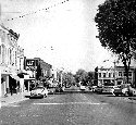 Main Street looking east in 1950's
