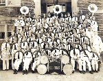 Danville school band 1936